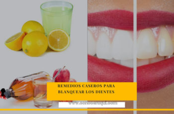 remedios caseros para blanquear los dientes amarillos