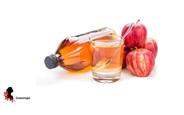 vinagre de manzana para blanquear los diantes