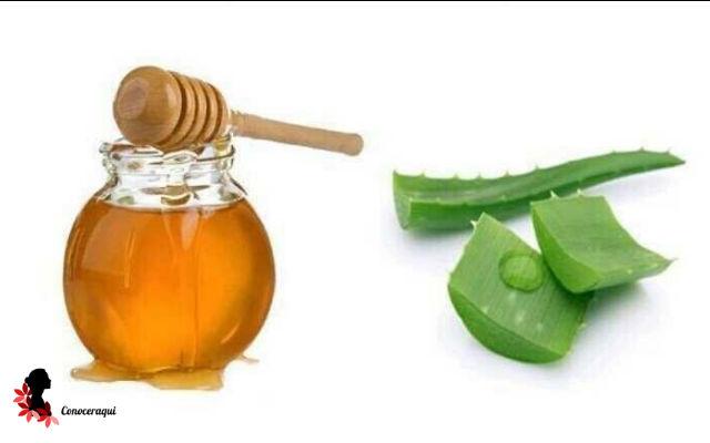 aloe vera y miel para dermatitis