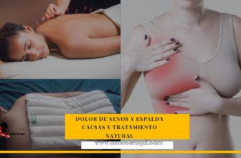 dolor de senos y espalda tratamiento natural
