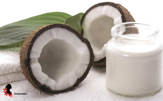 leche de coco para el frizz