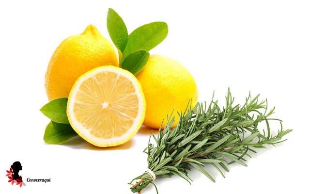 limon y romero para calmar el dolor de cabeza