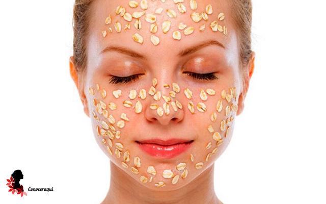 mascarillas para exfoliar la piel grasa de la cara