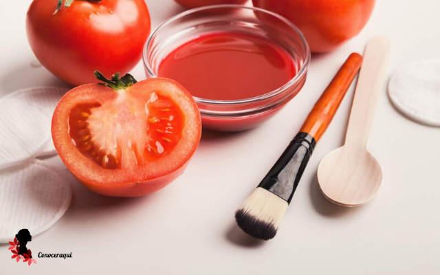 mascarilla de tomate para el cutis reseco