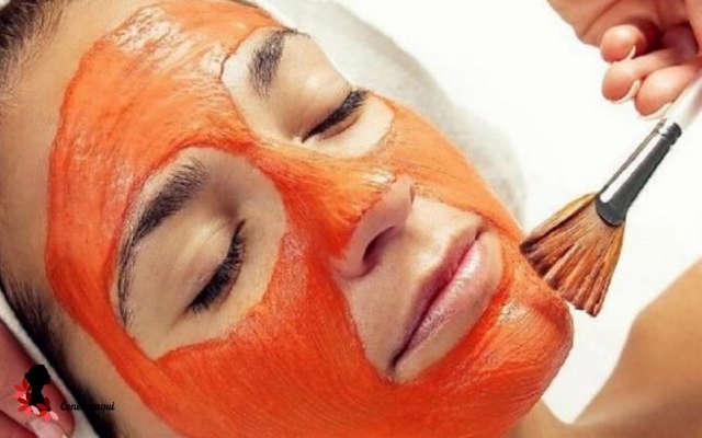 mascarilla de zanahoria para la piel de la cara