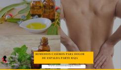 remedios caseros para dolores de espalda