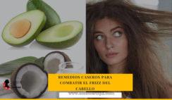 remedios caseros para el frizz del cabello