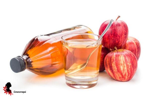 vinagre de manzana para dermatitis